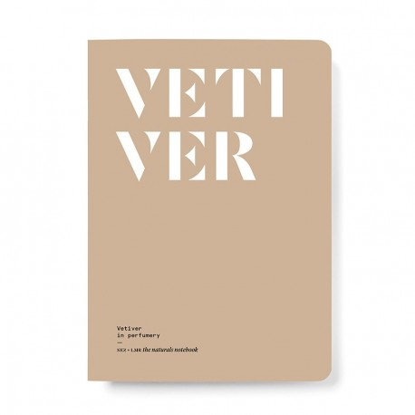 NEZ + LMR The naturals notebook - Vetiver