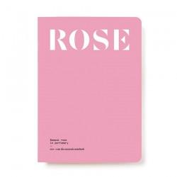 NEZ + LMR the naturals notebook - Rose