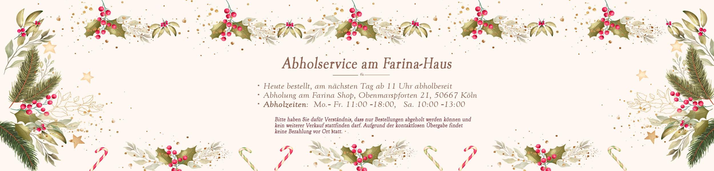Farina Abholservice